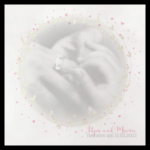 Hochzeitseinladung - Circle of Love