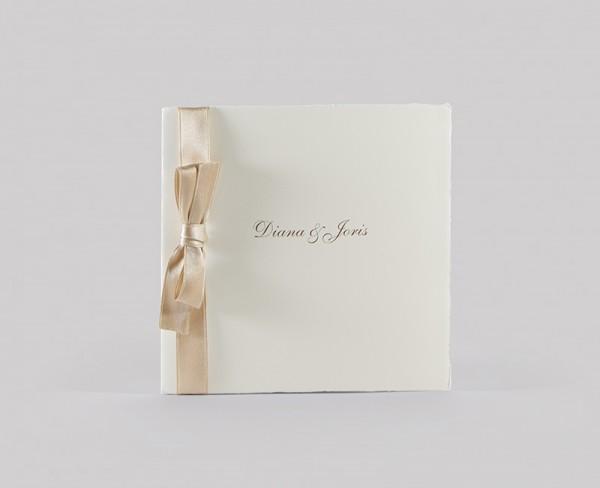 Hochzeitskarte - Bronze Bow