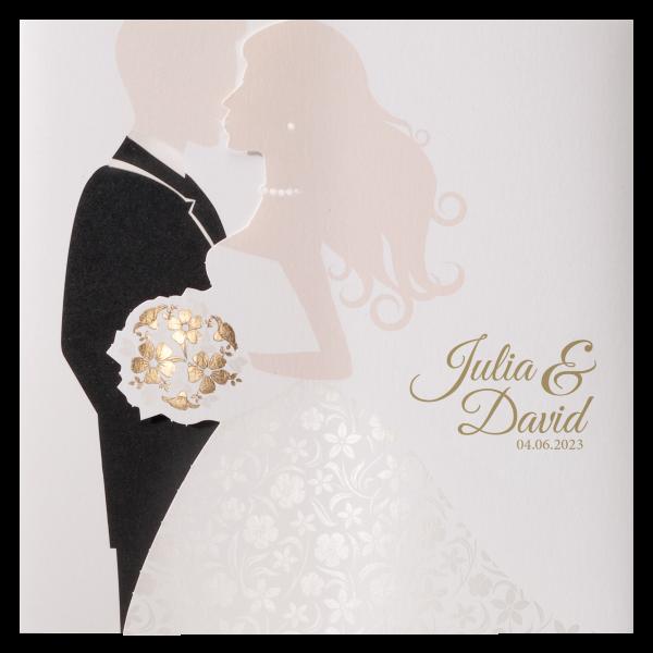 Hochzeitskarte – Brautpaar