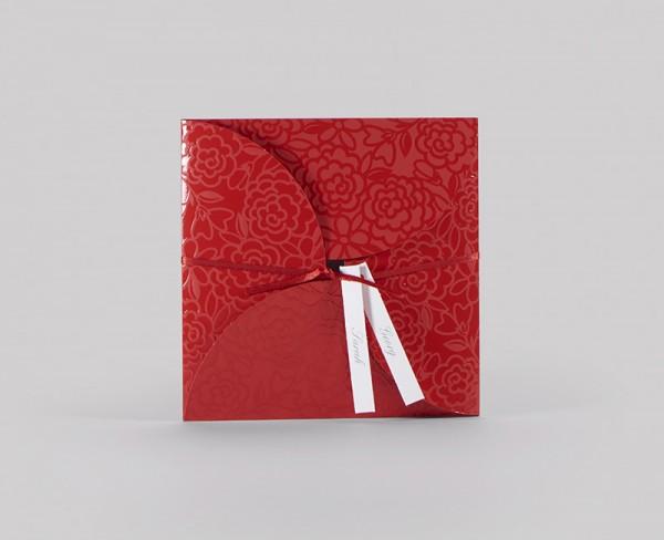 Hochzeitskarte - Red Roses