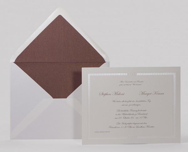 Hochzeitskarte - Elegance
