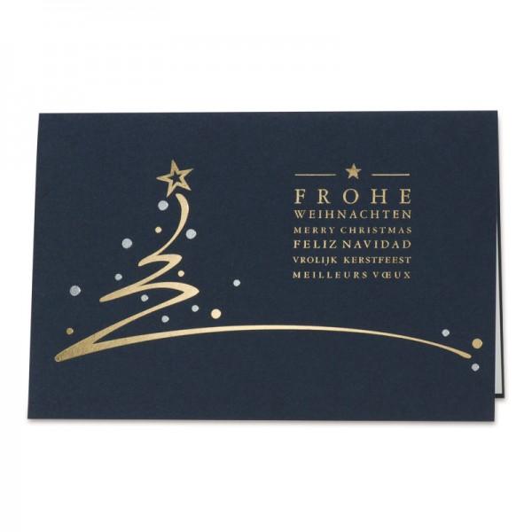 """Weihnachtskarte """"Prestige"""""""