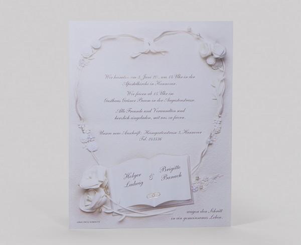 Hochzeitskarte Sheley