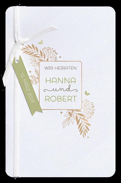 Hochzeitseinladung - Wedding Passport