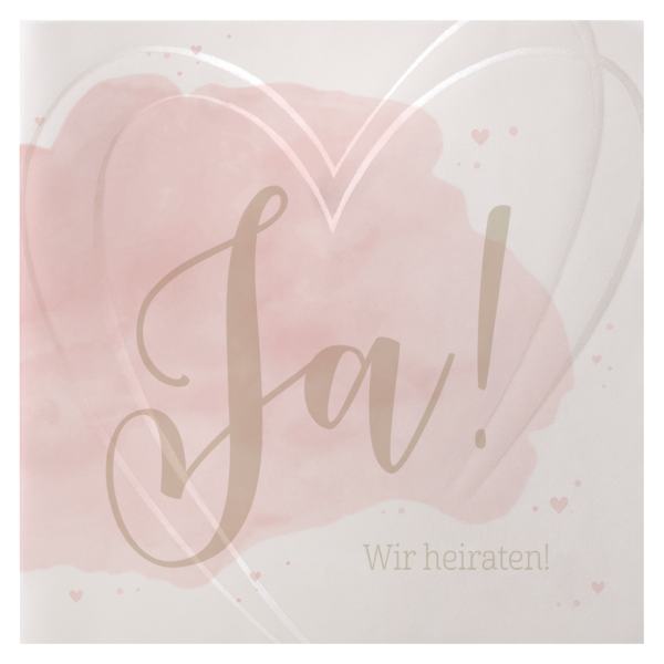 Hochzeitseinladung - Watercolor Love