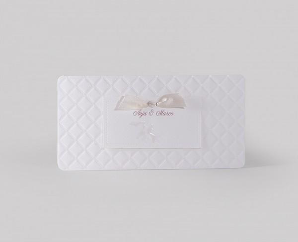 Hochzeitskarte Cushion