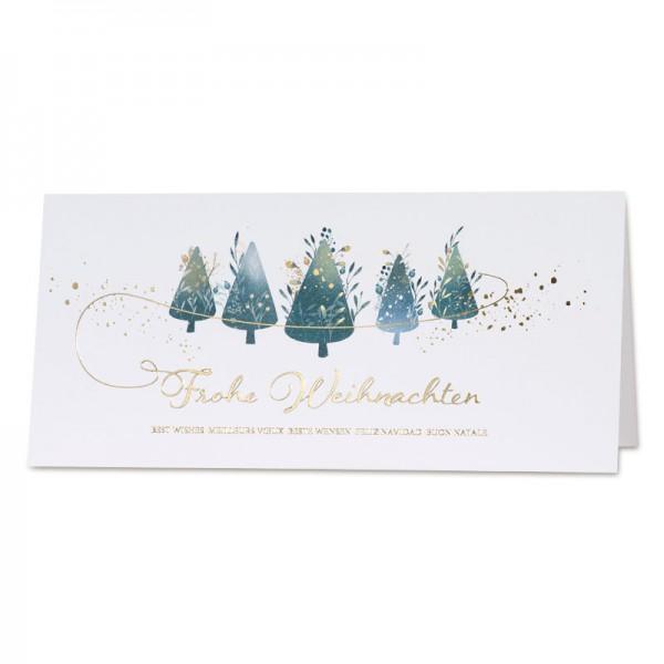 """Weihnachtskarte """"Christmas Spirit"""""""
