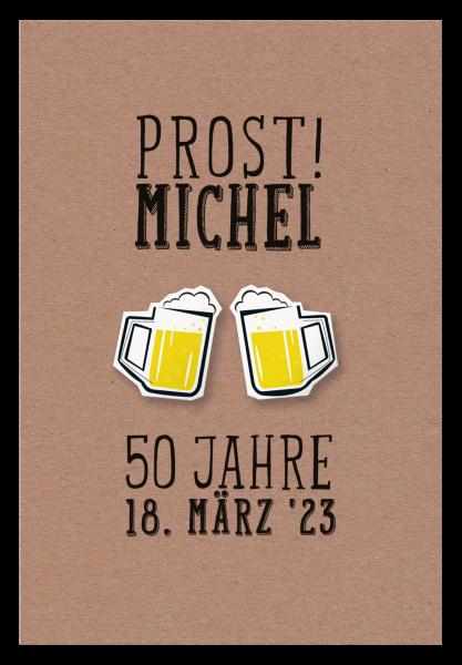 Einladung - Prost!