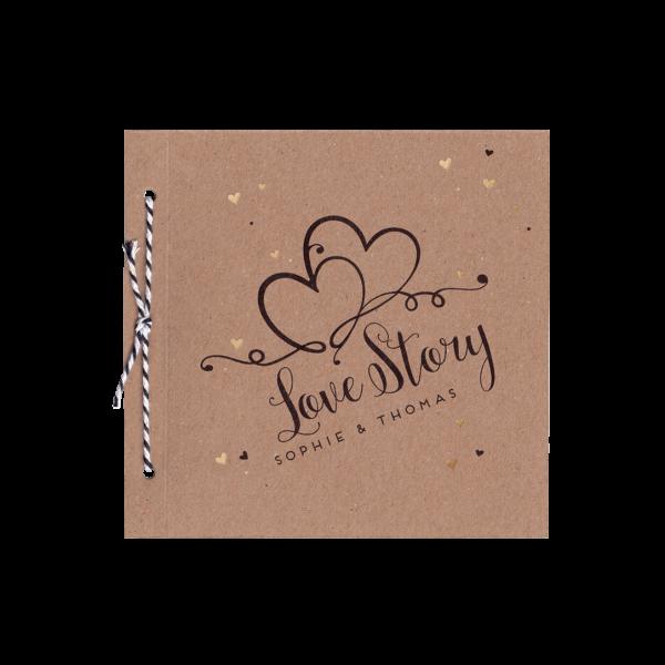 Hochzeitskarte - Love Story