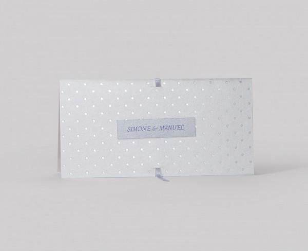 Hochzeitskarte Dots