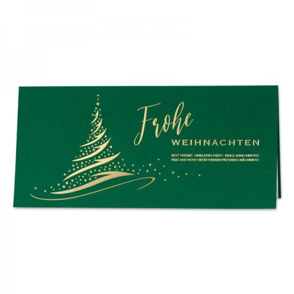 "Weihnachtskarte ""Green Jingle"""