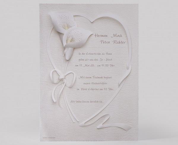 Hochzeitskarte Mack