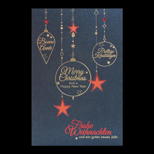 """Weihnachtskarte """"Stimmungsvolle Weihnacht"""""""