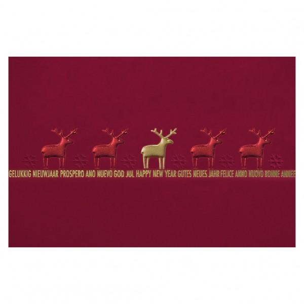 """Weihnachtskarte """"Rentieren"""""""