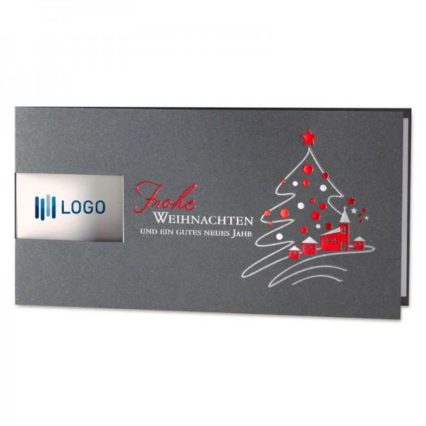 """Weihnachtskarte """"Weihnachtsdorf """""""