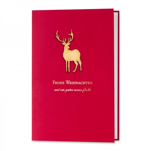 """Weihnachtskarte """"Red Velvet"""""""