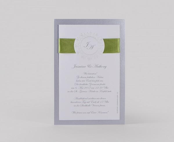 Hochzeitskarte Vivianne