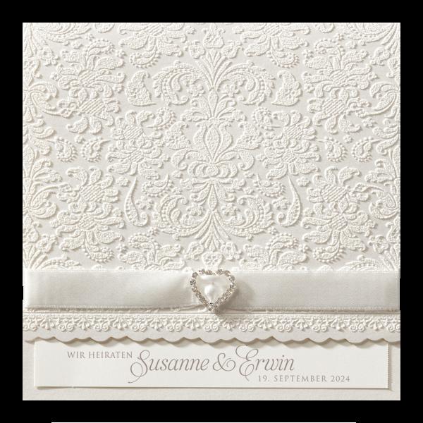 Hochzeitskarte - Superchic