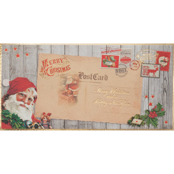 "Weihnachtskarte ""Classic Santa"""