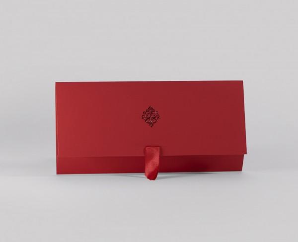 Hochzeitskarte - Red Ruby