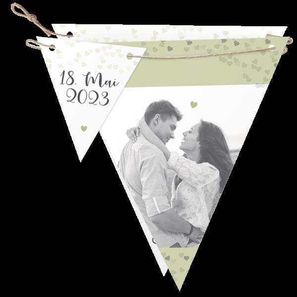 Hochzeitseinladung – Flaggen